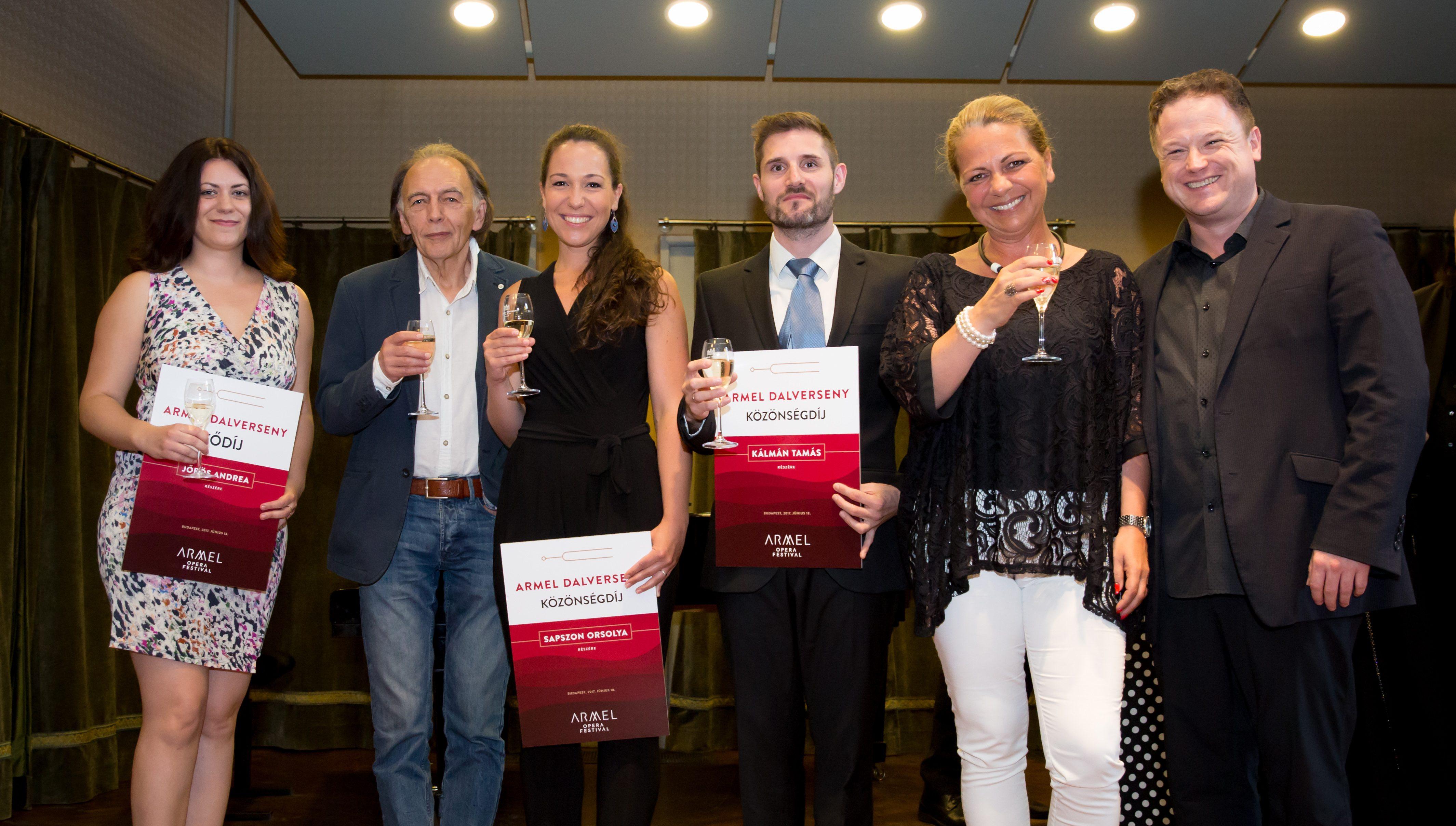 Armel Dalverseny: Közönségdíj!